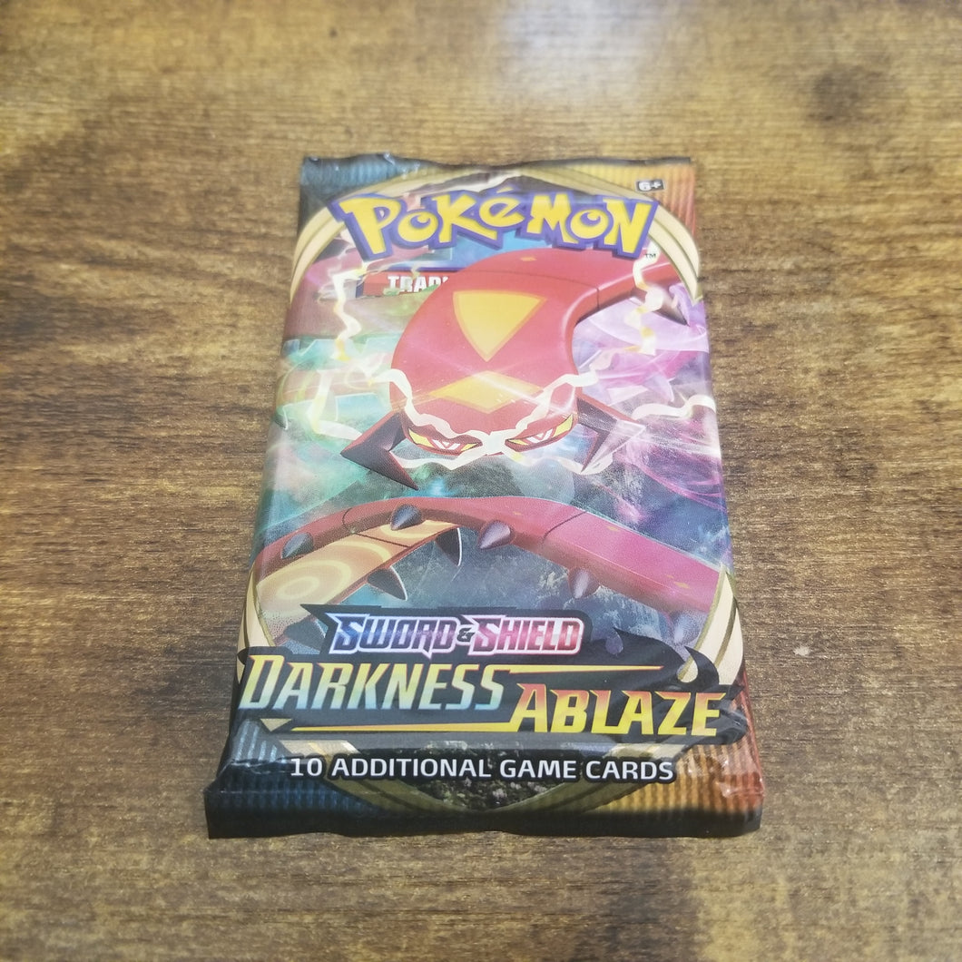 Pokemon Trading Card Game Sword & Shield Darkness Ablaze Booster Pack