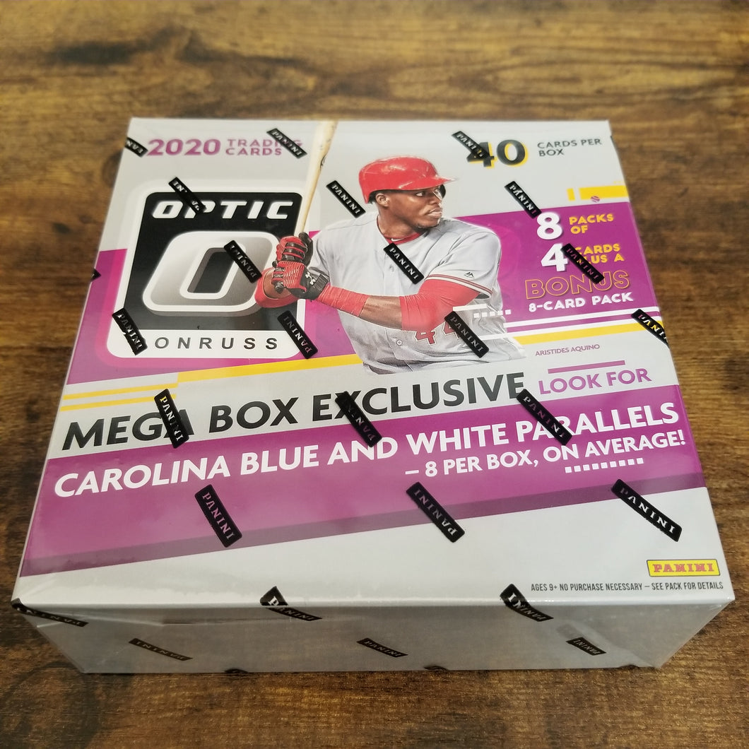 2020 Panini Donruss Optic Baseball Mega Box