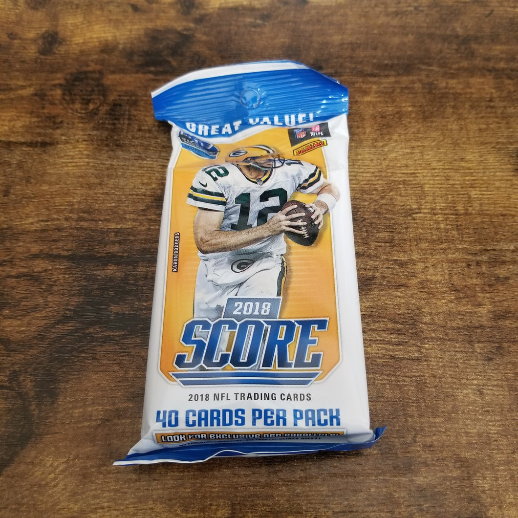 2018 Panini Score Fat Pack ( Possible Lamar Jackson RC! )