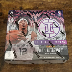 2019-20 Panini Illusions Hobby Box