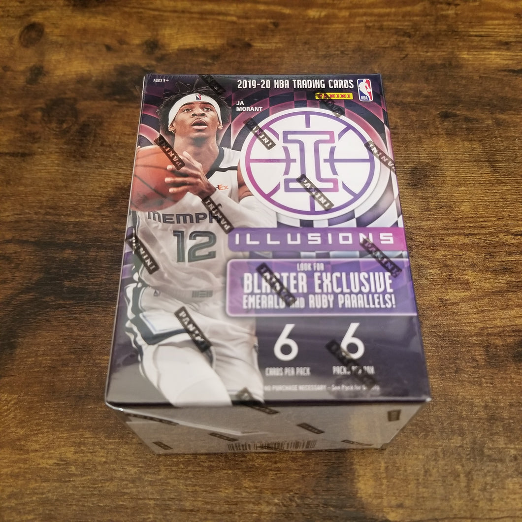 2019-20 Panini Illusions Blaster Box