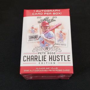 2020 Leaf Pete Rose Charlie Hustle Edition ( 1 Rose Auto Per Set )