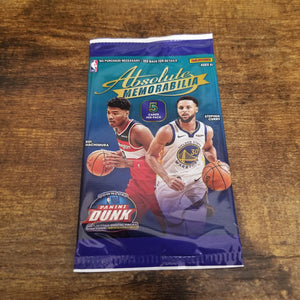 2019-20 Panini Absolute Memorabilia Gravity Feed Pack