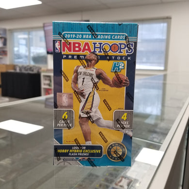 2019-20 Panini NBA Hoops Premium Stock Hybrid Box