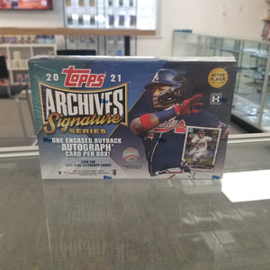 2021 Topps Archives Signature Series Box
