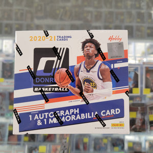 2020-21 Donruss Basketball Hobby Box