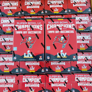 2020 Tampa Bay Buccaneers Super Bowl Champions Set