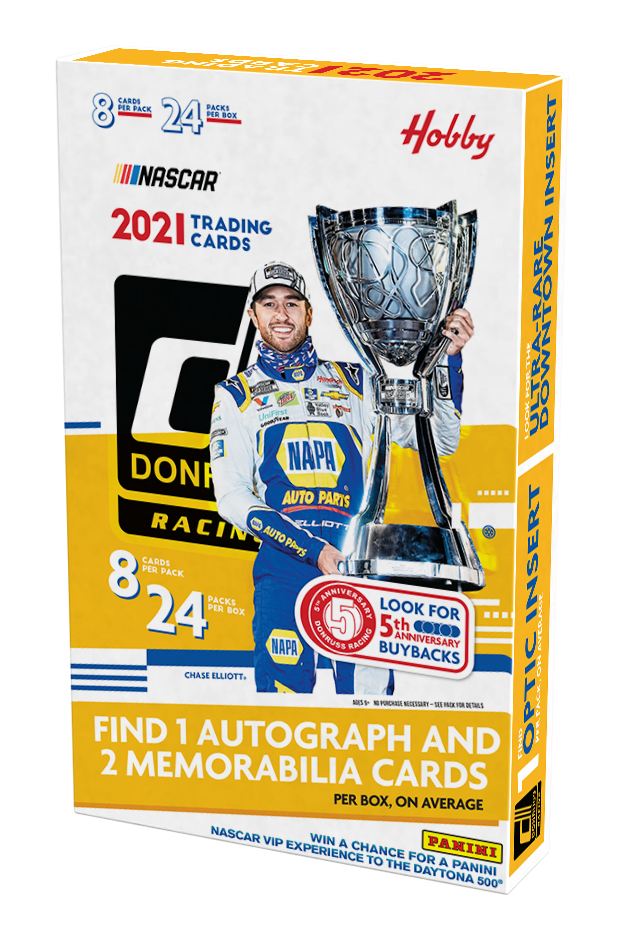 2021 Panini Donruss Racing Hobby Box