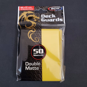 BCW Yellow Deck Guards