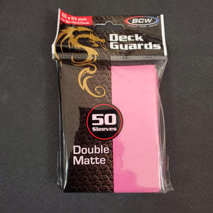 BCW Pink Deck Guards