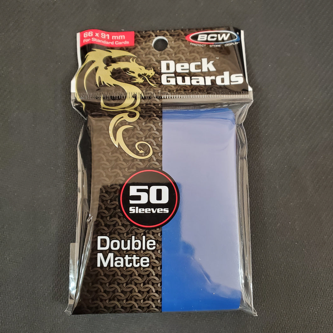 BCW Blue Deck Guards