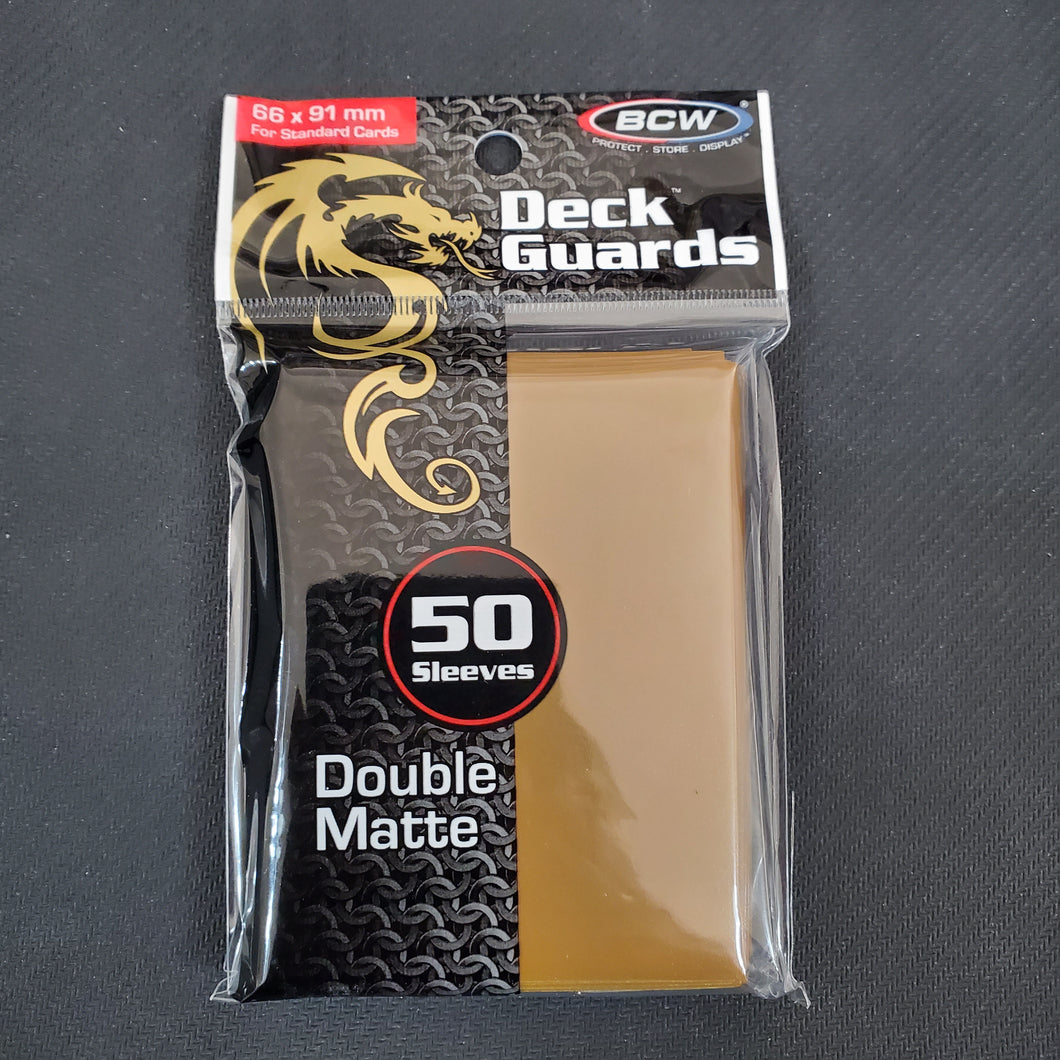 BCW Brown Deck Guards