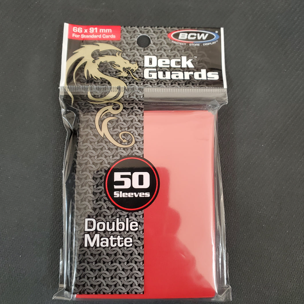 BCW Red Deck Guards