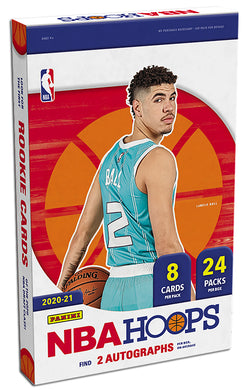 2020-21 Panini NBA Hoops Hobby Box