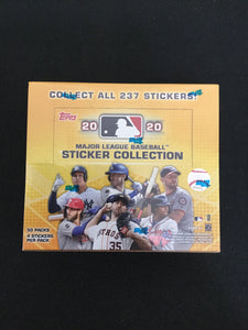2020 Topps MLB Sticker Collection Box