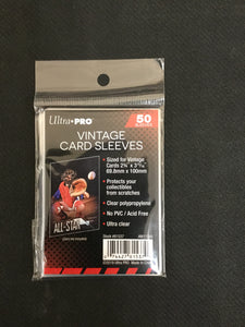 Ultra Pro Vintage Card Sleeves