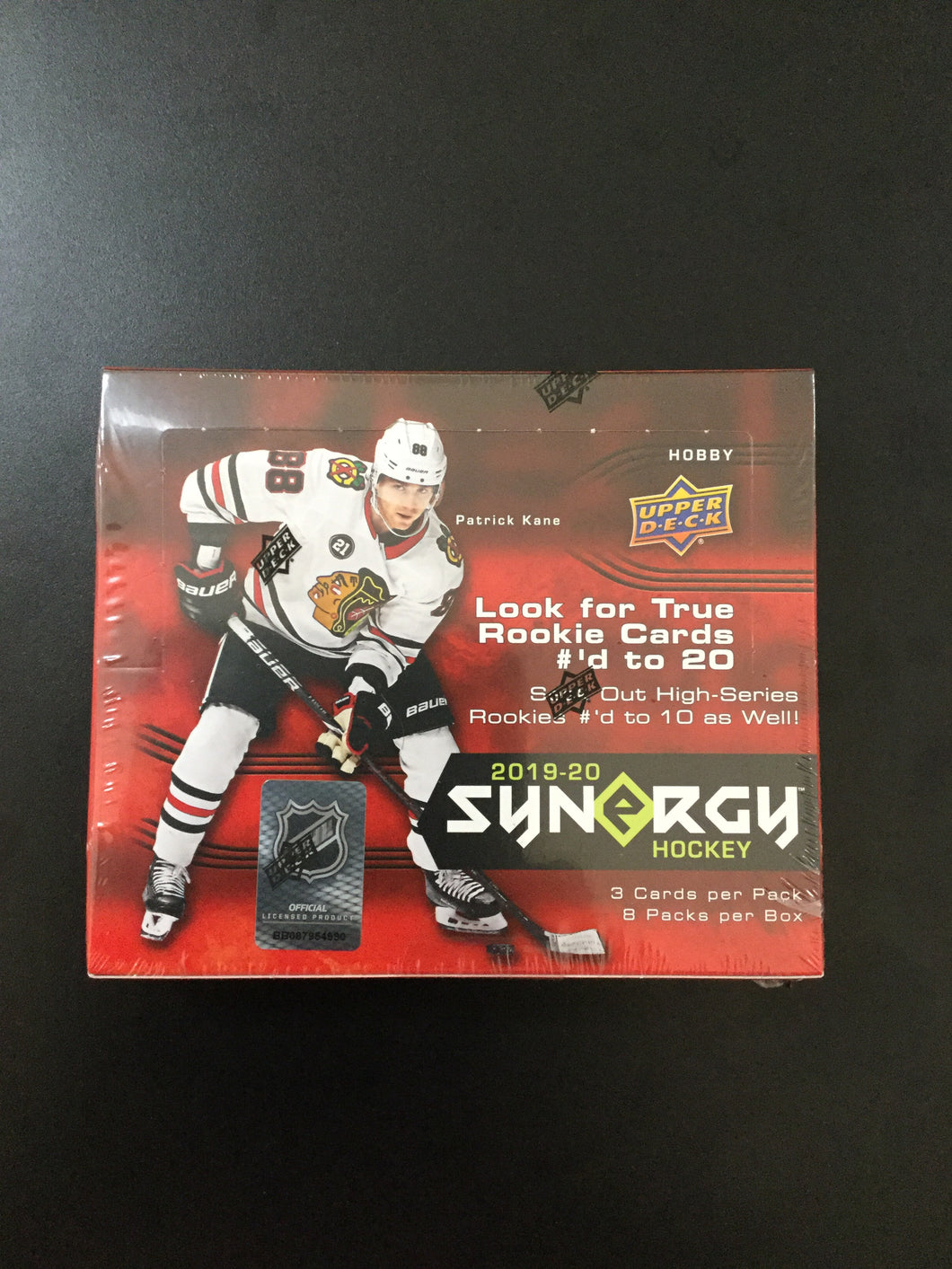 2019-20 Upper Deck Synergy Hockey Hobby Box
