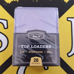 Cardboard Gold Regular Size Topload 25 Count