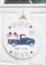 Load image into Gallery viewer, July 4th Door Hanger