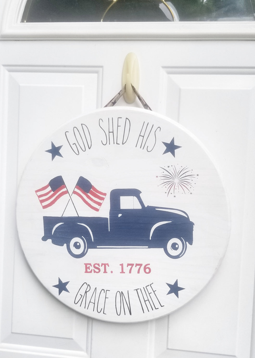 July 4th Door Hanger