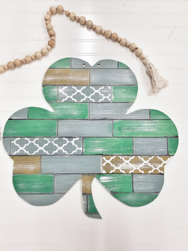 Shamrock Door Hanger
