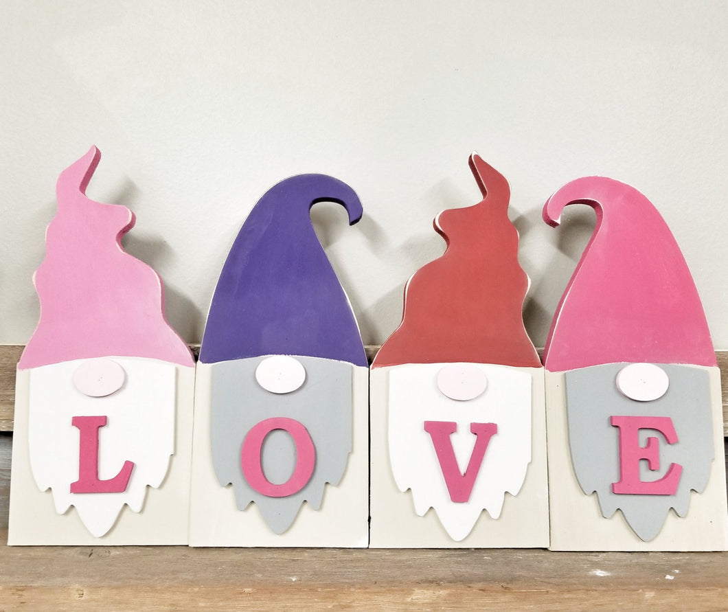 Gnome Love Shelf Sitters