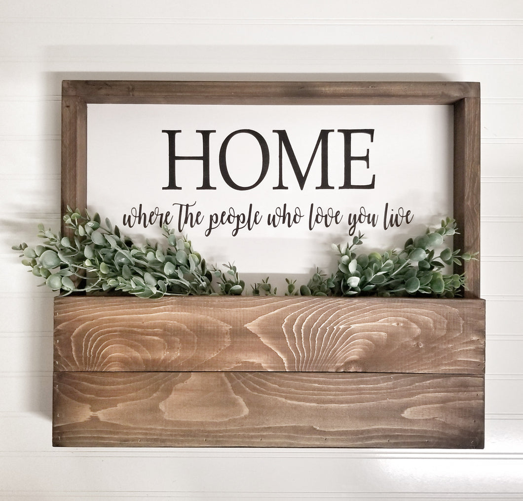 Home Pocket Sign