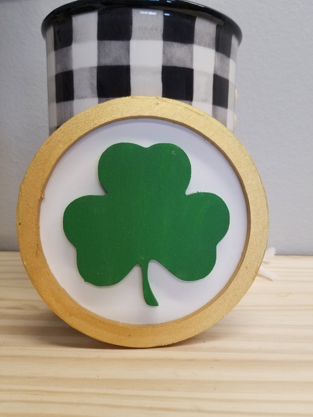 Shamrock Tiered Tray Sign
