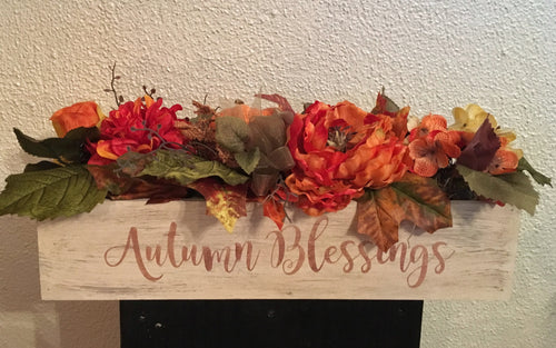October 15- Personalized Box filled with Autumn Silks