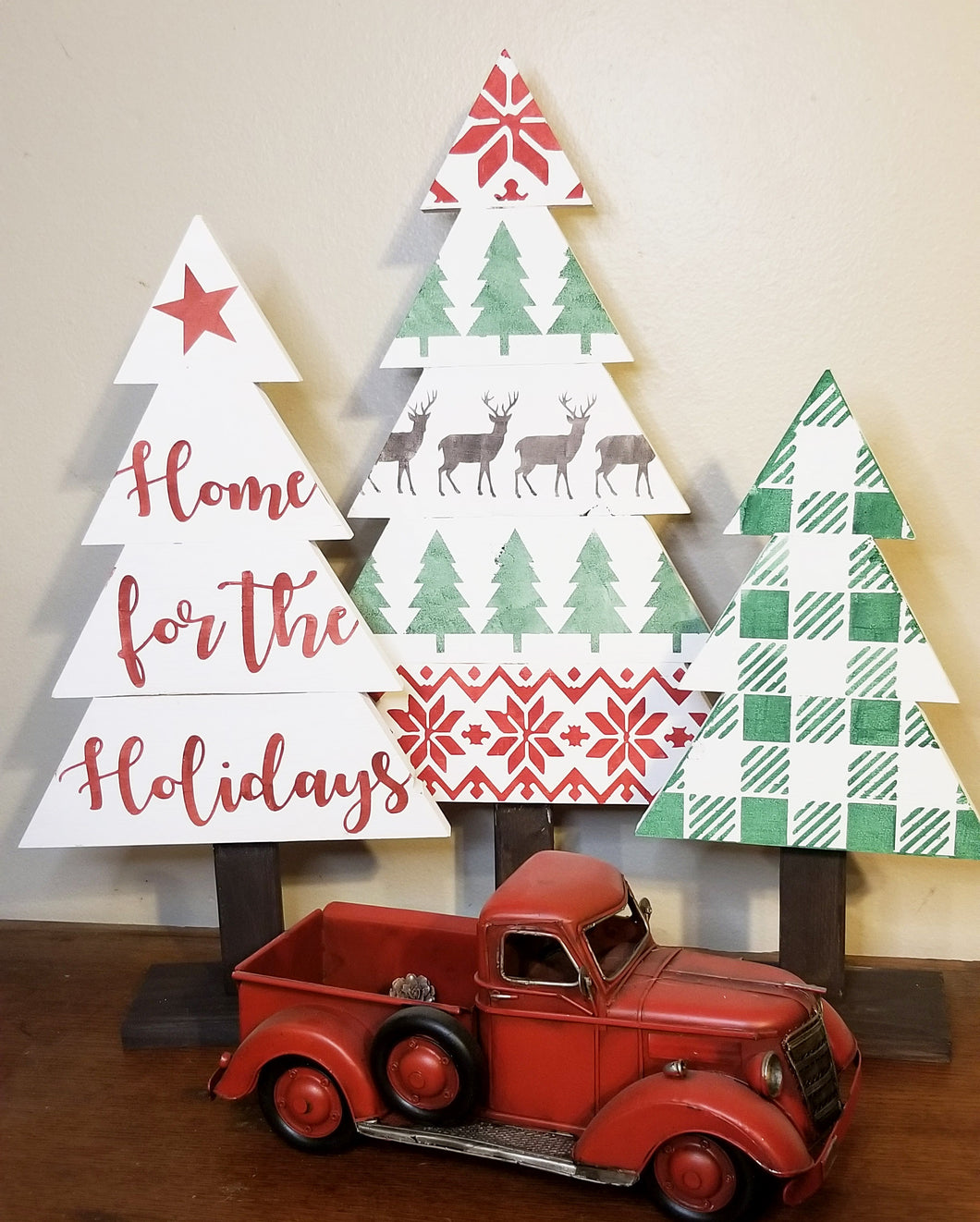 Christmas Tree Trio DIY Kit