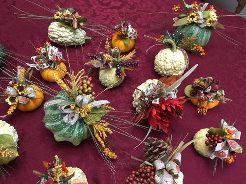 October 1- Gourmet Gourds at LILY AND ROSE FLORAL STUDIO