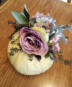 October 7th or 8th Decorated Autumn Pumpkins at LILY AND ROSE FLORAL STUDIO