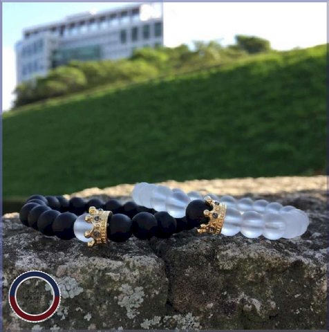 King - Bracelet transparent
