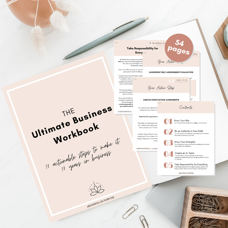 The Ultimate Business Workbook