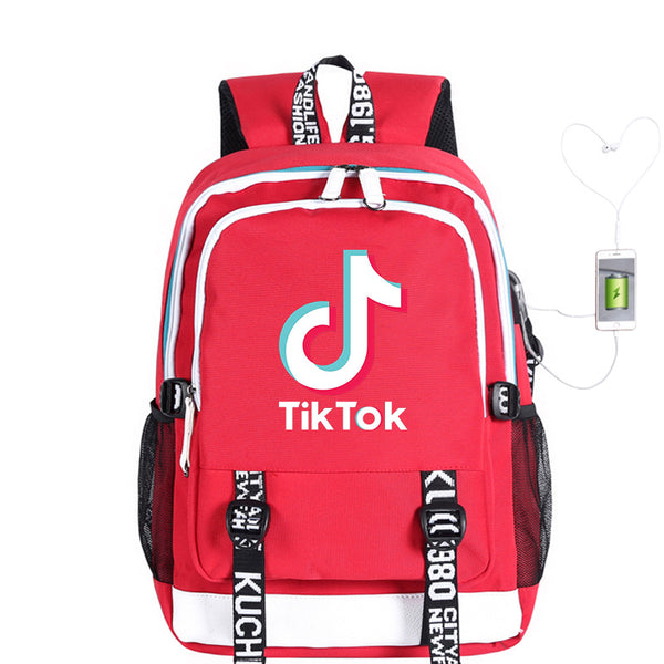 Fashion Laptop Tik Tok Backpacks for Women Men, Casual Stylish School College  Travel Backpack