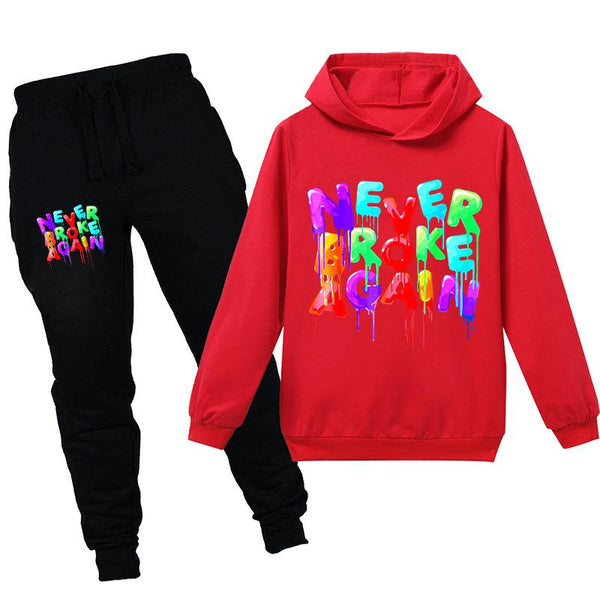 kids Youngboy hooded shirt and pants