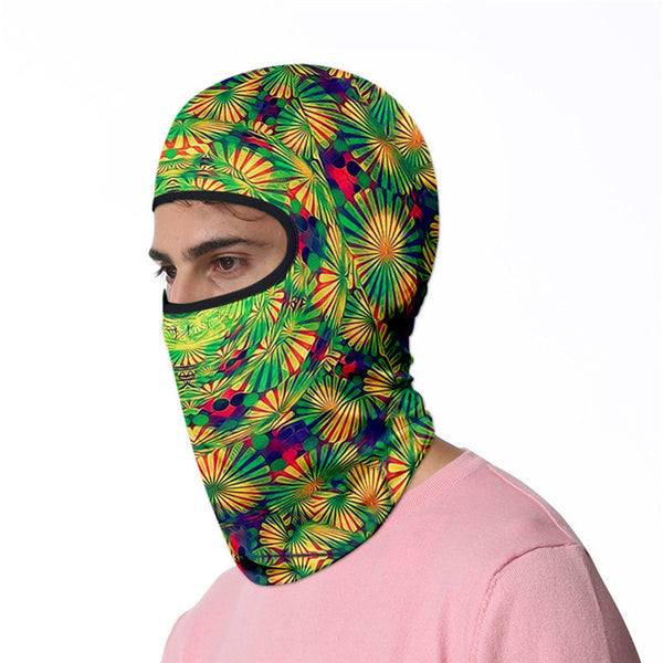 3D turban uv face shield head custom bandana scarf kerchief