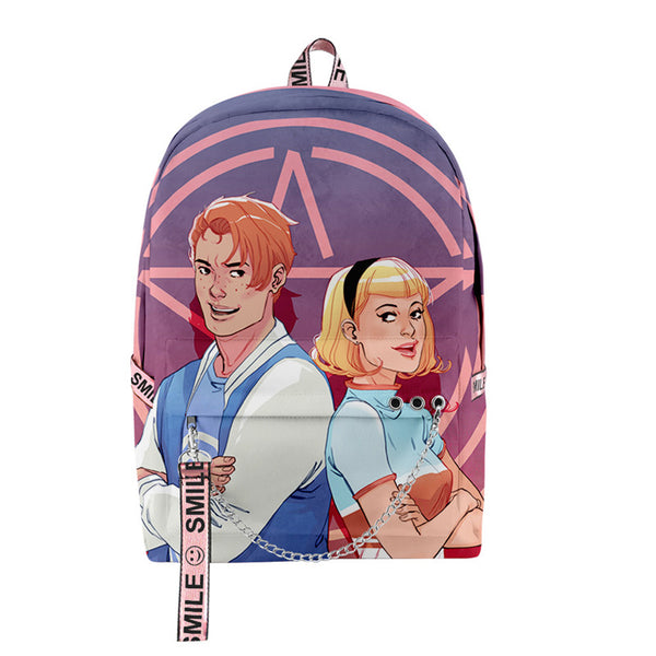 Fashion Deeprint Cool 3D RIVERDALE School Book Bag Printing Backpacks for Boys Girls