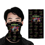 riverdale  3D turban uv face shield head custom bandana scarf kerchief