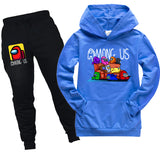 Kids Among Us Pullover Hoodie & Sweatpants Set