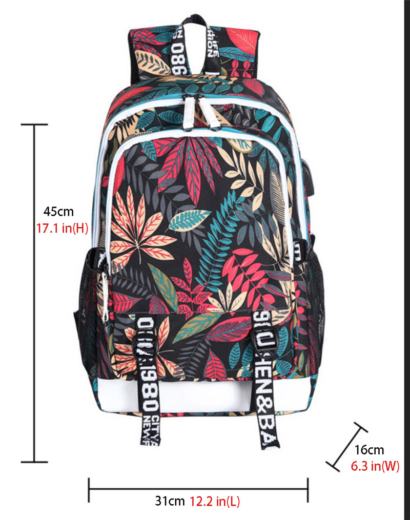 Charli D'Amelio Book Bag Casual Stylish Backpack for Women Men Girls T –  firstcorset