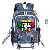 Fashion Laptop Brawl Star Backpacks for Women Men, Casual Stylish School College  Travel Backpack
