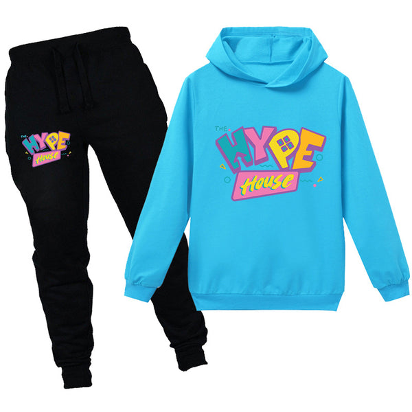 Boys Girls Hype House Hoodies and Sweatpants Set