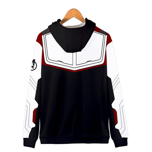 Avenger Endgame Zipper Hooded Sweatshirt and Tights Clothing Cosplay - firstcorset