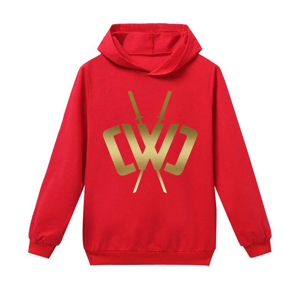 Boys Hooded Sweatshirt Kids Chad Wild Clay Casual Hoodie
