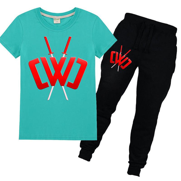 Kids Chad Wild Clay Graphic Tee & Pants Set