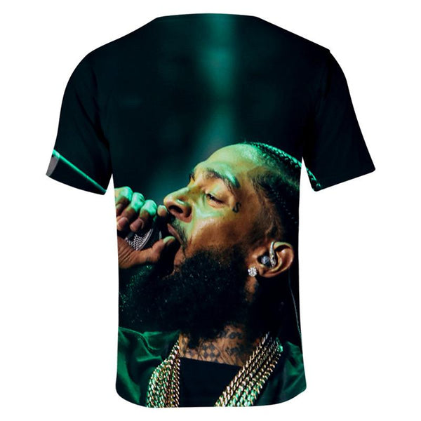 Racks In The Middle Retro Rap Tee Unisex Nipsey Hussle T-Shirt - firstcorset