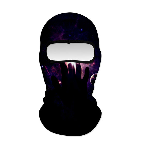 Balaclava Galaxy Cool Full Face Maks Ski Sports Cap Motorcycle Hood For Cycling Sports Hiking