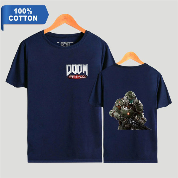 Unisex Doom Eternal Hip Hop Cotton T-Shirt