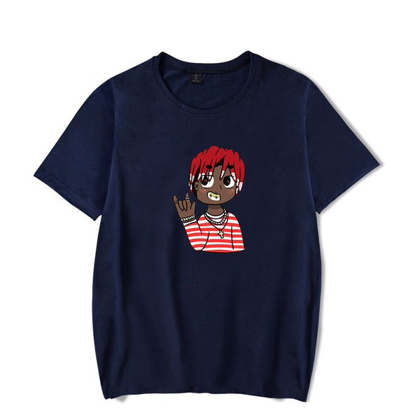 Unisex Lil Yachty  contracted design and fashion Cotton T-Shirt